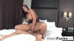 Alison hires a friend...