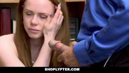 ShopLyfter - Redhead Teen Gets...