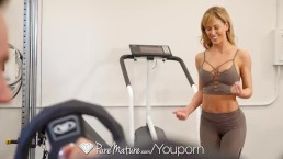PUREMATURE Sexual training gym...