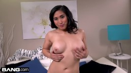 Mia Li shows off...