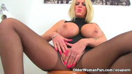 English milf Shannon Blue...