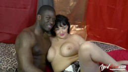 AgedLovE Lacey Starr Interracial...