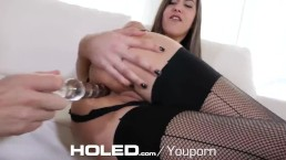 HOLED GAPING anal creampie...