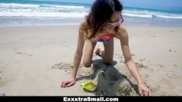 ExxxtraSmall - Beach Babe Knows...