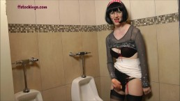 FFstockings - Mature jerking off...