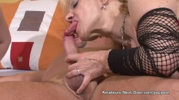 Pale blonde fucks with...