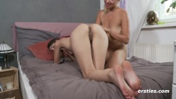 Real Passionate Lesbian Sex...