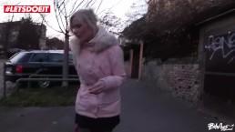 LETSDOEIT - Blonde Babe Tricked...