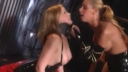Busty blonde lesbian submits...