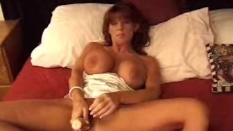 Amateur Masturbates With Dildo