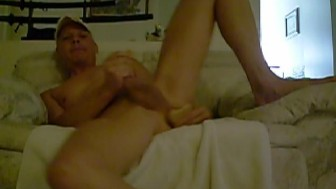 Gay Serious Dildo Ass Playing