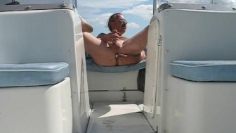 MALE ON BOAT