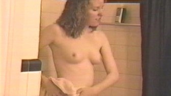 Wife Dawn after Shower