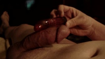 cumming with vibrator