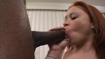 latina gets a black load