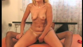 Horny MILF meets big black cock 2/4