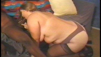 Big woman plays with Big Dick's dick
