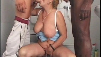 granny gets it from two guys - Pt. 2/2