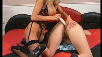 French dildo action