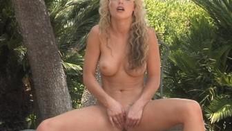 Kayden Kross Shows Her Sweet Snatch