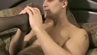Feet and stocking addict- Mybestfetish