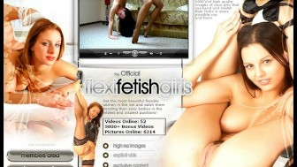 Pornstar Angie in flexi poses