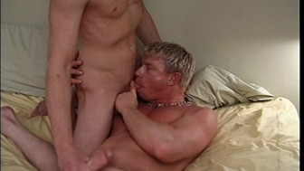 Blonde boys get it on
