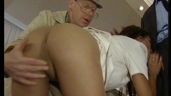 Older man wants her ass