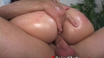 Bubble Butt Hottie Riding Big Cock