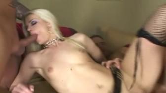 Skinny blonde dped