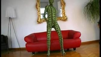 Green snake spandex Magdi