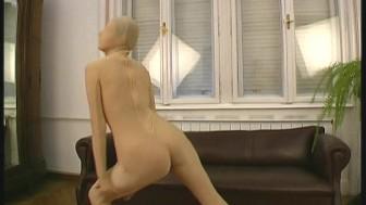 Beautiful Eva in fullbody nylon