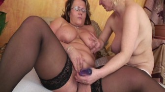 Naked Lezzies pleasure each other