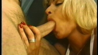 Blonde loves sticky, ozzie cum
