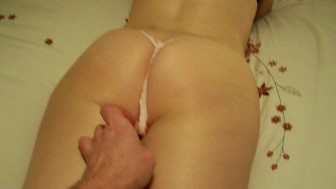 Tight Ass InThong Fondled