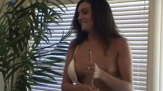 Hot Young Amateurs Play Strip Billiards