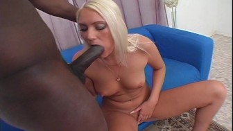 Sexy babe loves big black cock Pt. 1/3