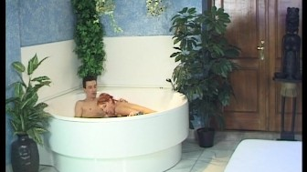 Nothing like a hot tub to wake the body [CLIP]