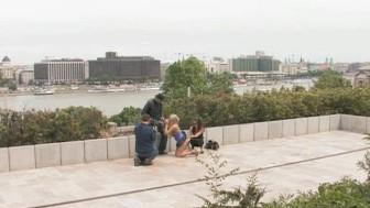 Hot European outdoor sex scene