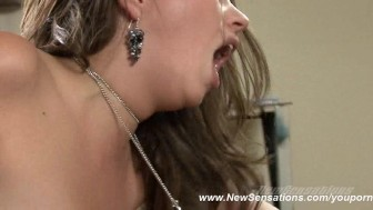 Missy Stone Takes A Mouthful Of Cum