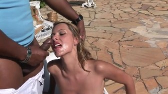 Bianca Melo takes one mean anal pounding