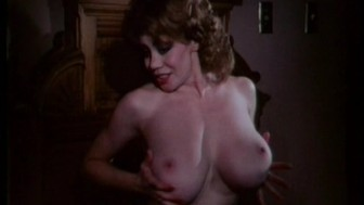 Retro busty girl getting fucked up the ass