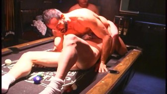 Men's pool table of love