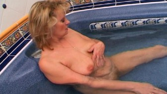Maybe I'll cum in the hot tub