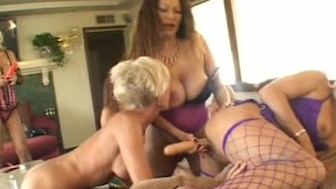 Mature orgy part 1