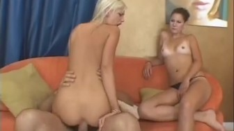 Next door blonde and her gf