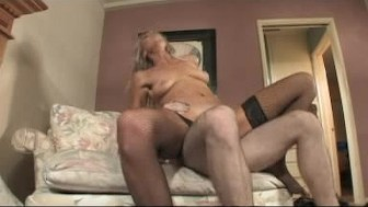 Mature pussy riding on top....