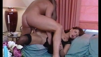 He loves to tickle her pussy
