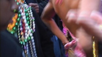 Show Me Your Breasts If You Want The Beads - Distinctive