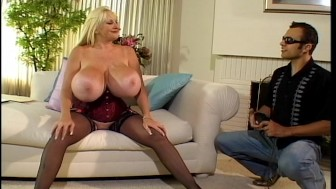 Giant tits in action